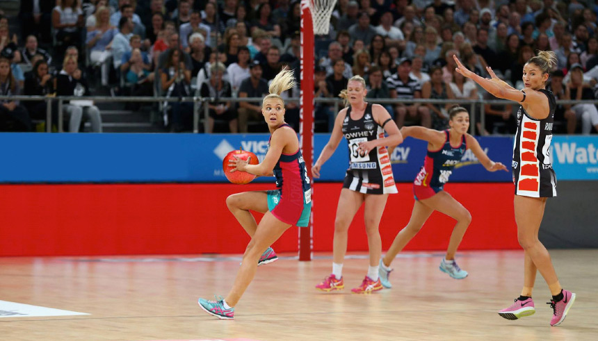 Aussie Apples the official fruit supplier of Netball Australia