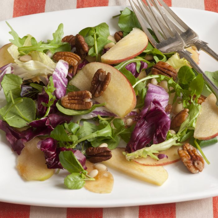 Apple, Chicory & Pecan Salad
