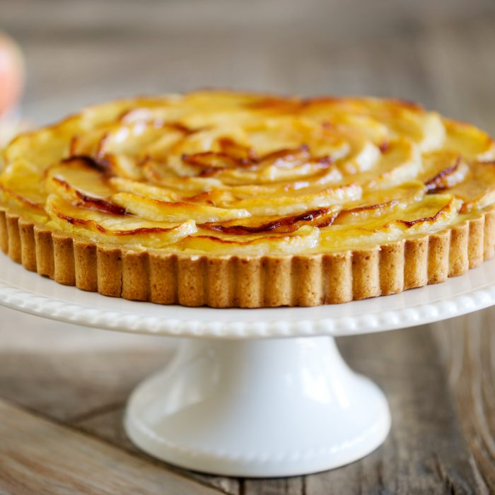 Apple Galettes with Vanilla Chantilly