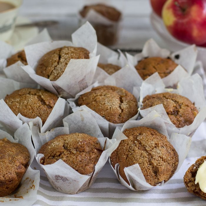 Apple and Honey (Gingerbread) Muffins