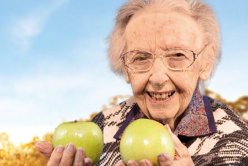 Edna Spurway Aussie Apple Legend