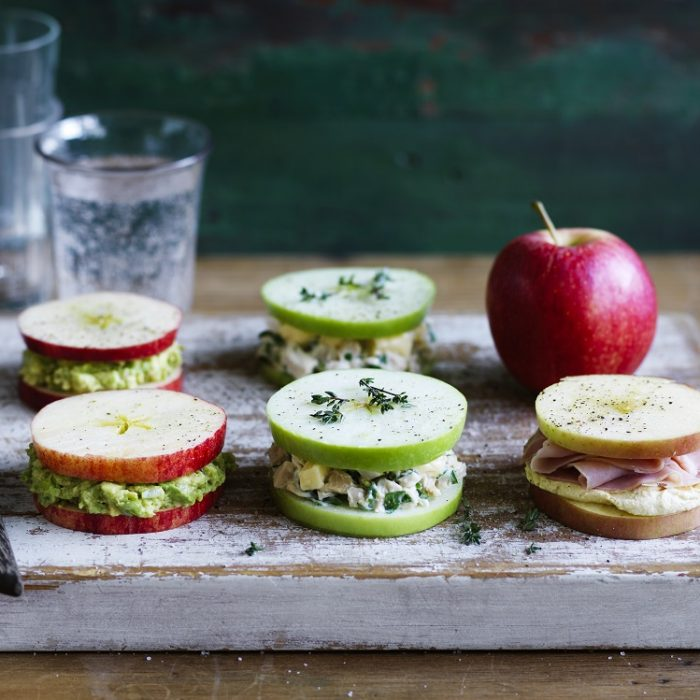 Apple Sandwich Snacks