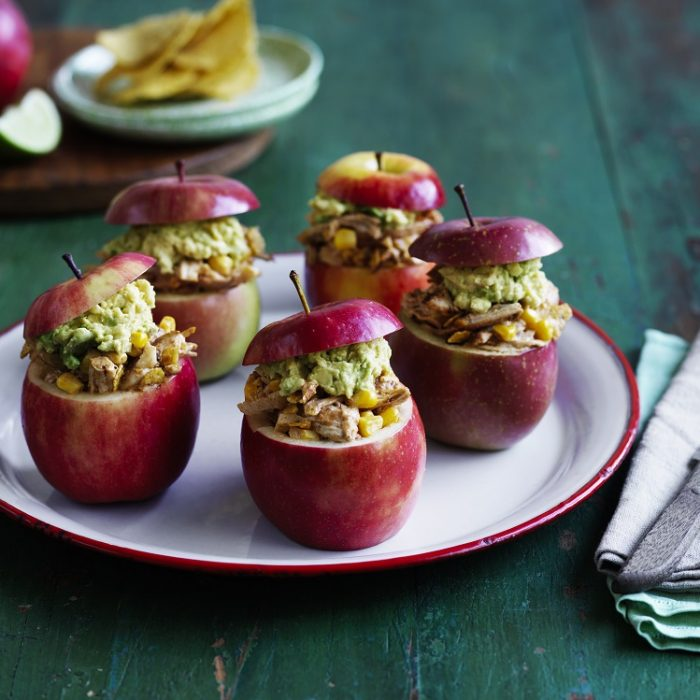 Apple taco cups