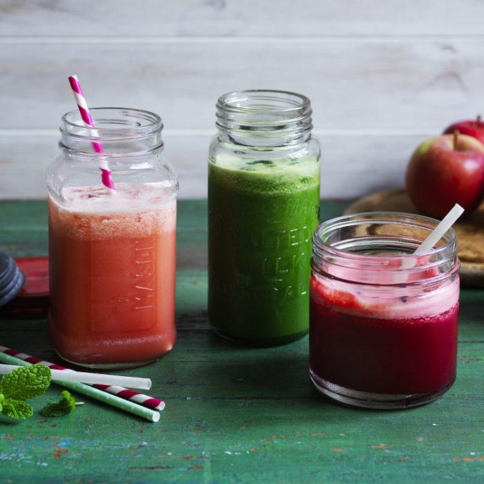 Healthy Apple Juice 3 ways