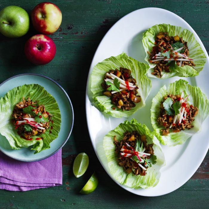 Pork & Apple San Choy Bao
